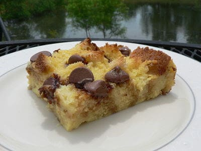 Extreme bread pudding