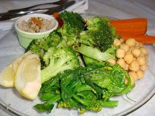 Tonight's dinner is … broccoli