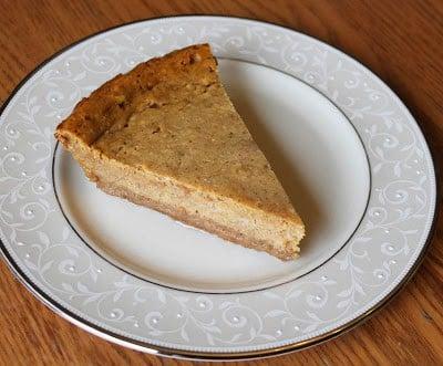 Pumpkin Chévre Cheesecake