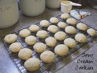 Recipe: Sour Cream Cookies