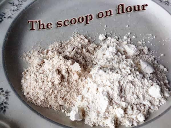 The scoop on flour
