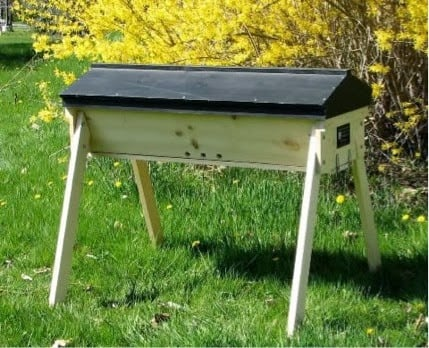 Top bar hives for healthier bees