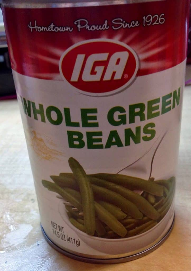 Green Beans - Canned Food