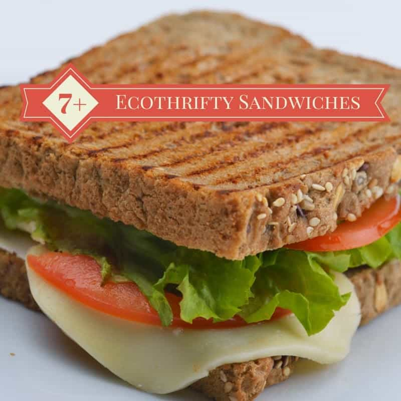 7+ healthier, ecothrifty sandwich ideas