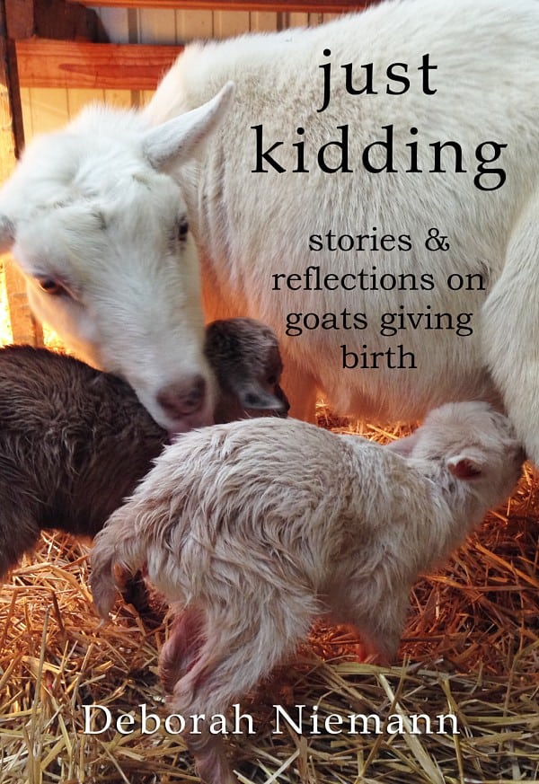 Just kidding - stories on goats giving birth