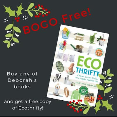 Buy a book, get a free copy of Ecothrifty