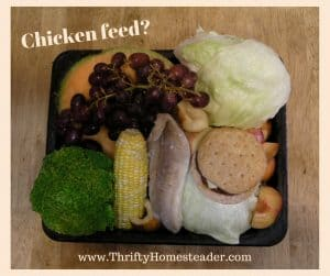 Chicken feed-