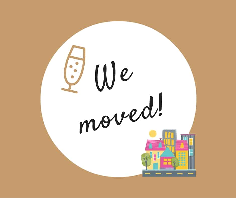 We moved and remodeled and …