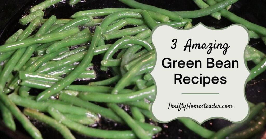 pickled green beans