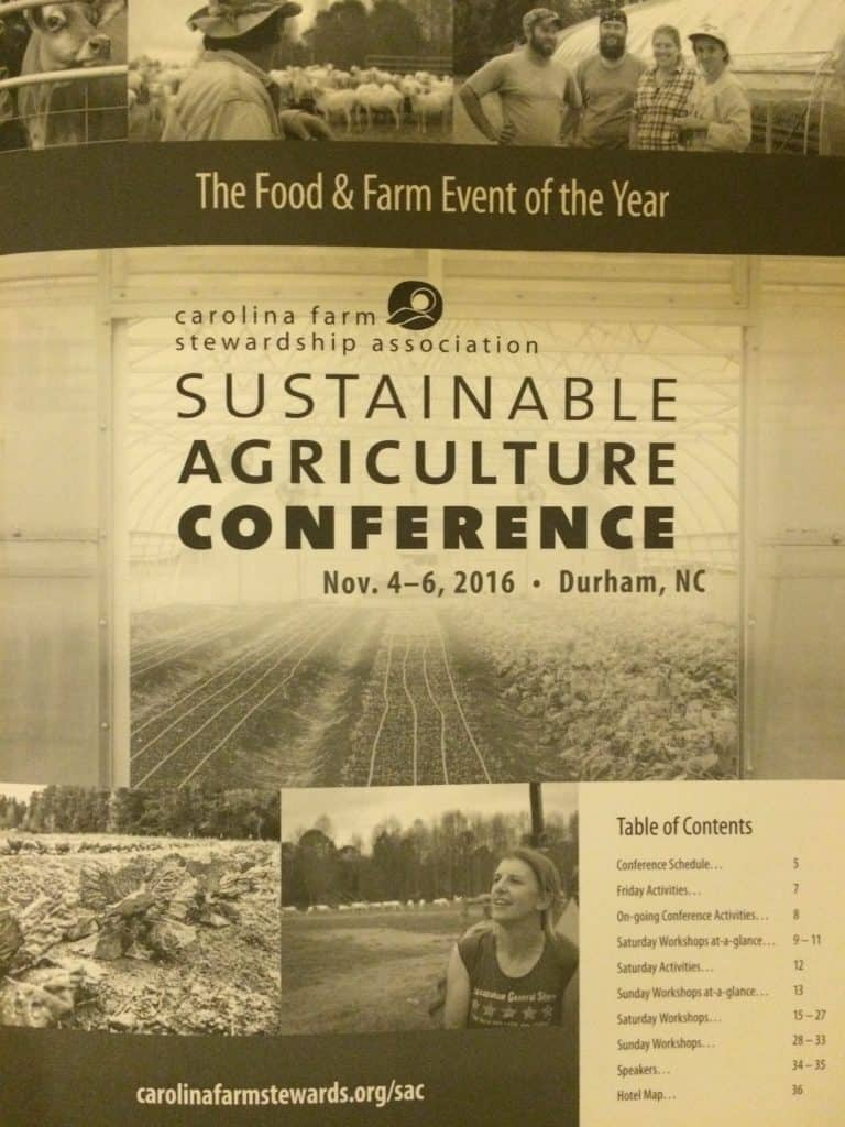 Snapshot of Sustainable Agriculture Conference