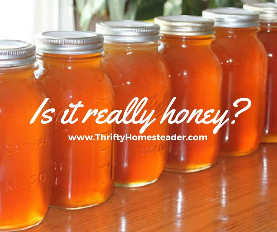 Is it really honey?