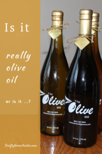 Is it really olive oil