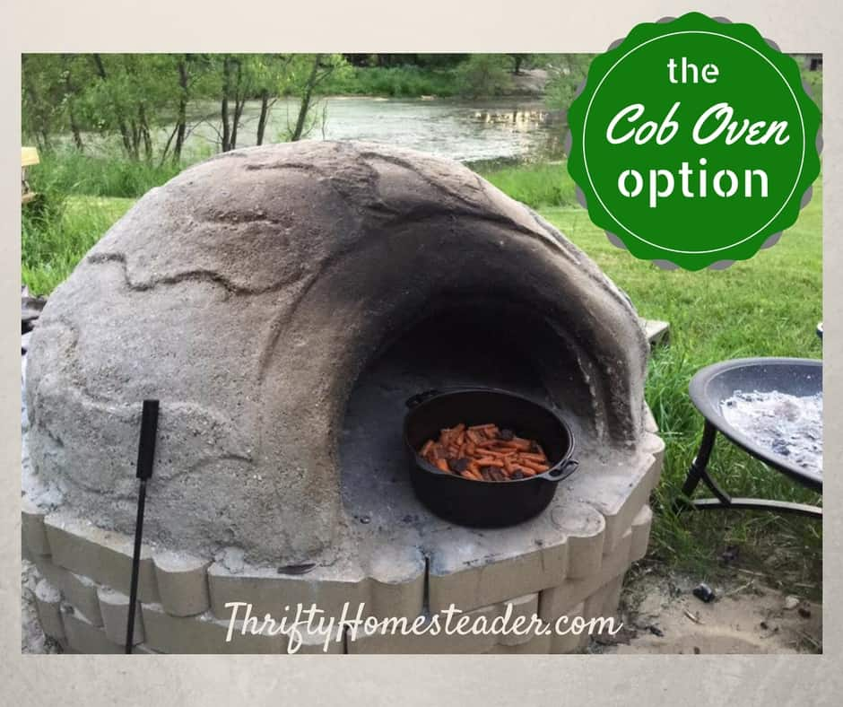 Cob ovens: a sustainable option for summer baking