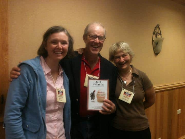 Want to go pro as a sustainable farmer? Meet Joel Salatin
