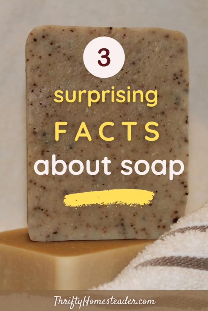 surprising facts about soap