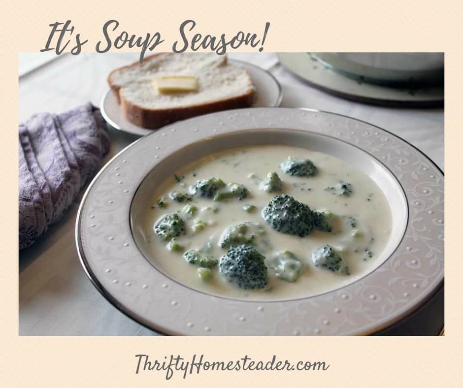It's soup season!