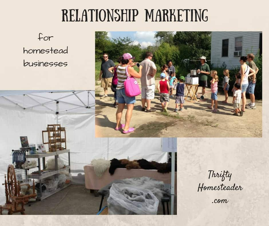 Relationship Marketing for Homestead Businesses