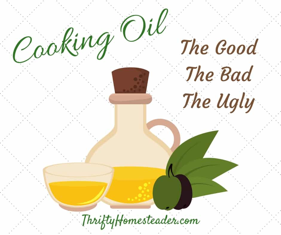 Cooking Oil: The Good, the Bad, and the Ugly