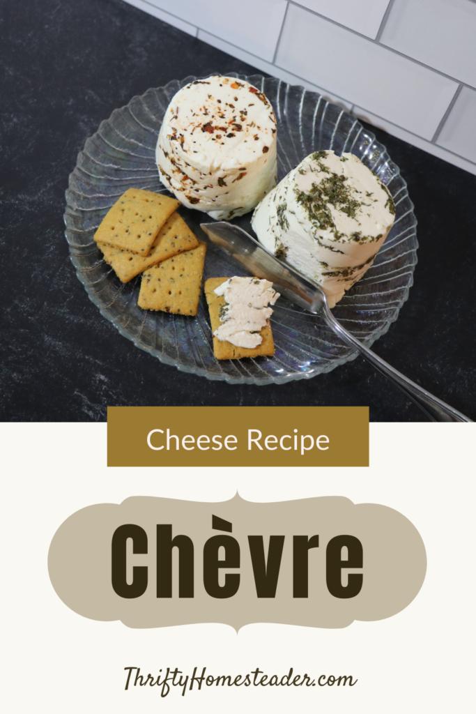 Goat Cheese Recipe Chèvre