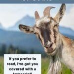 Nutritional Wisdom of Goats
