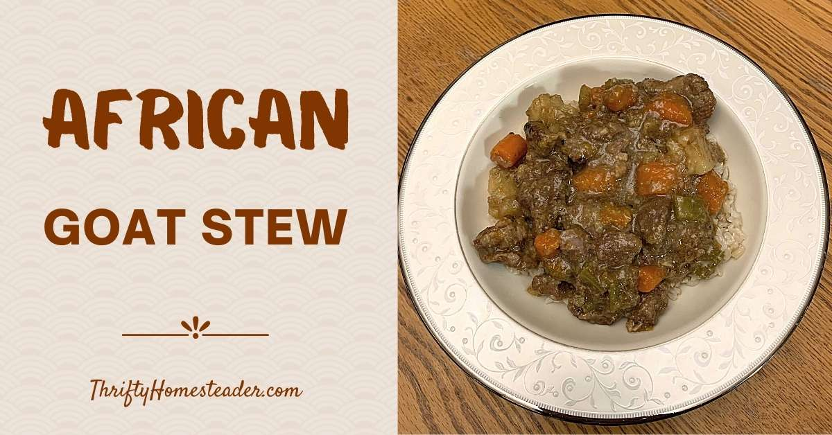 African Goat Stew