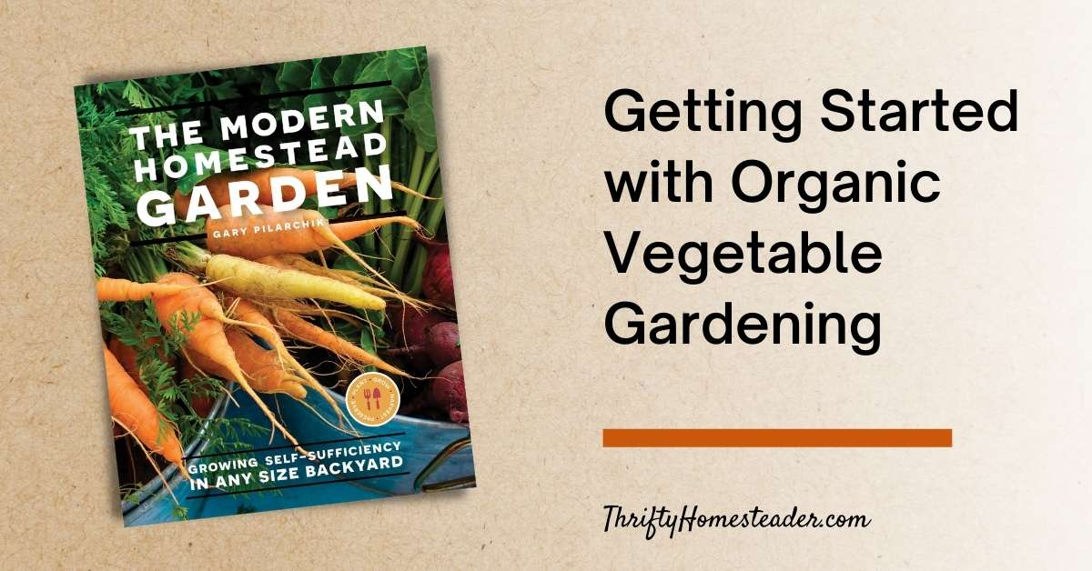 getting started with organic vegetable gardening